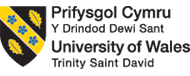 UW Trinity Saint David logo